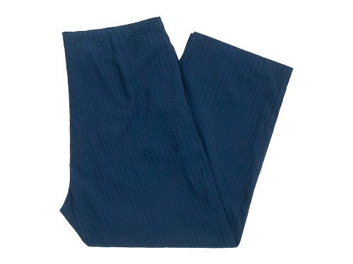 TOUJOURS String Wrap Pants NAVY STRIPE