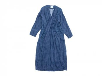 TOUJOURS String Cache-coeur Dress INDIGO BLUE