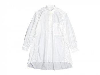 homspun 120/2タイプライター Bigシャツ ホワイト
