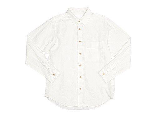THE HINOKI リネンコットン Wポケットワークシャツ