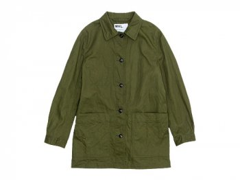 MHL. JAPANESE DRILL JACKET 180OLIVE 〔レディース〕