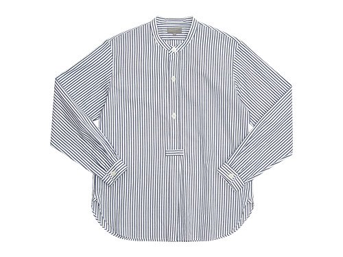 MARGARET HOWELL SUMMER OXFORD CANDY STRIPE SHIRTS 030WHITE 〔メンズ〕