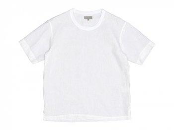 MARGARET HOWELL SHIRTING LINEN T-SHIRTS 030WHITE 〔メンズ〕