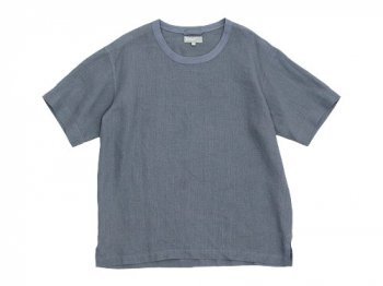 MARGARET HOWELL SHIRTING LINEN T-SHIRTS 022GRAY 〔メンズ〕