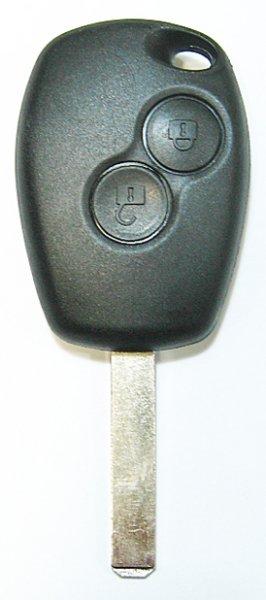 ルノー・新型2ボタン・リモート内ミゾキー・VA2・交換用・空ケース【2個セット】