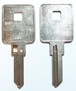 ILCO製・TRI/MARK用ブランクキー(1601・TM1)