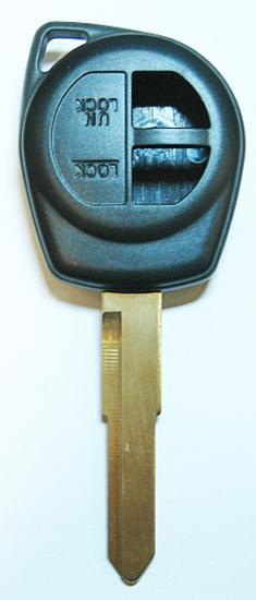 SILCA・スズキ・2ボタン・HU87・エンプティ・シェル(HU87-2B)