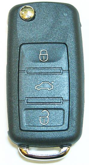 VW・フォルクスワーゲン・トゥアレグ専用・3ボタンリモコン・交換用ケース