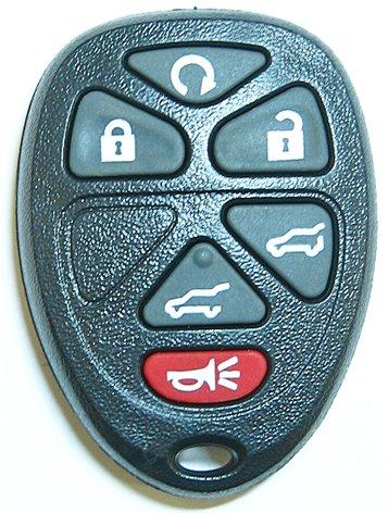 アフター製・キャディラック・エスカレード・6(5+1)ボタン・リモコン・交換用ケース(ボタンパッド付)