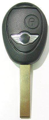 最終便!・アフター製・`01-`04/NEWミニ・2ボタン・リモートキー・シェル
