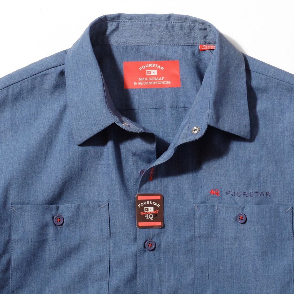 FOURSTAR CLOTHING MAX WORKSHIRTS S/S
