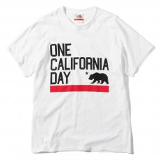 ONE CALIFORNIA DAY ONE CALI RED BAR LOGO TEE