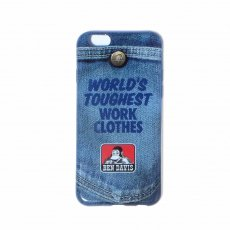 BEN DAVIS ORIGINALS - I-PHONE 6/6S CASE【DENIM】
