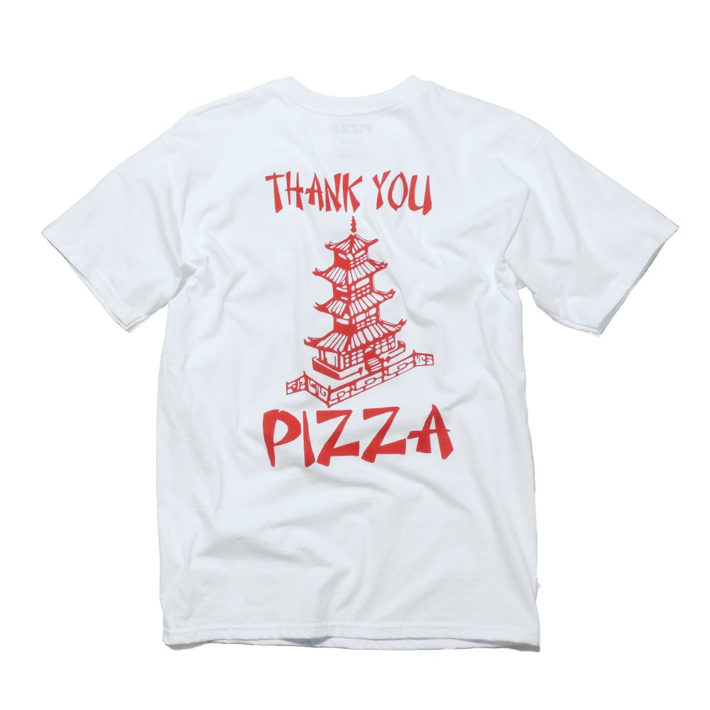 ベンデイビス PIZZA SKATEBOARDS THANK YOU PIZZA TEE 詳細画像2