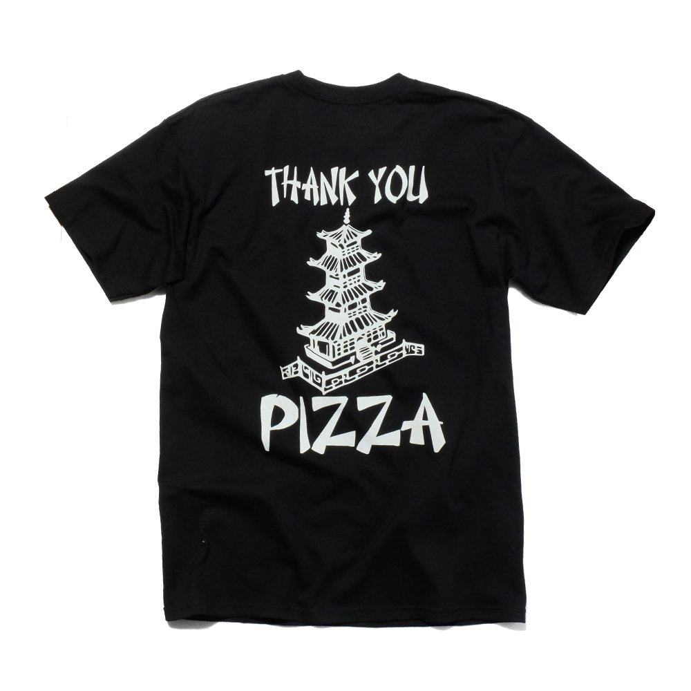 ベンデイビス PIZZA SKATEBOARDS THANK YOU PIZZA TEE 詳細画像3