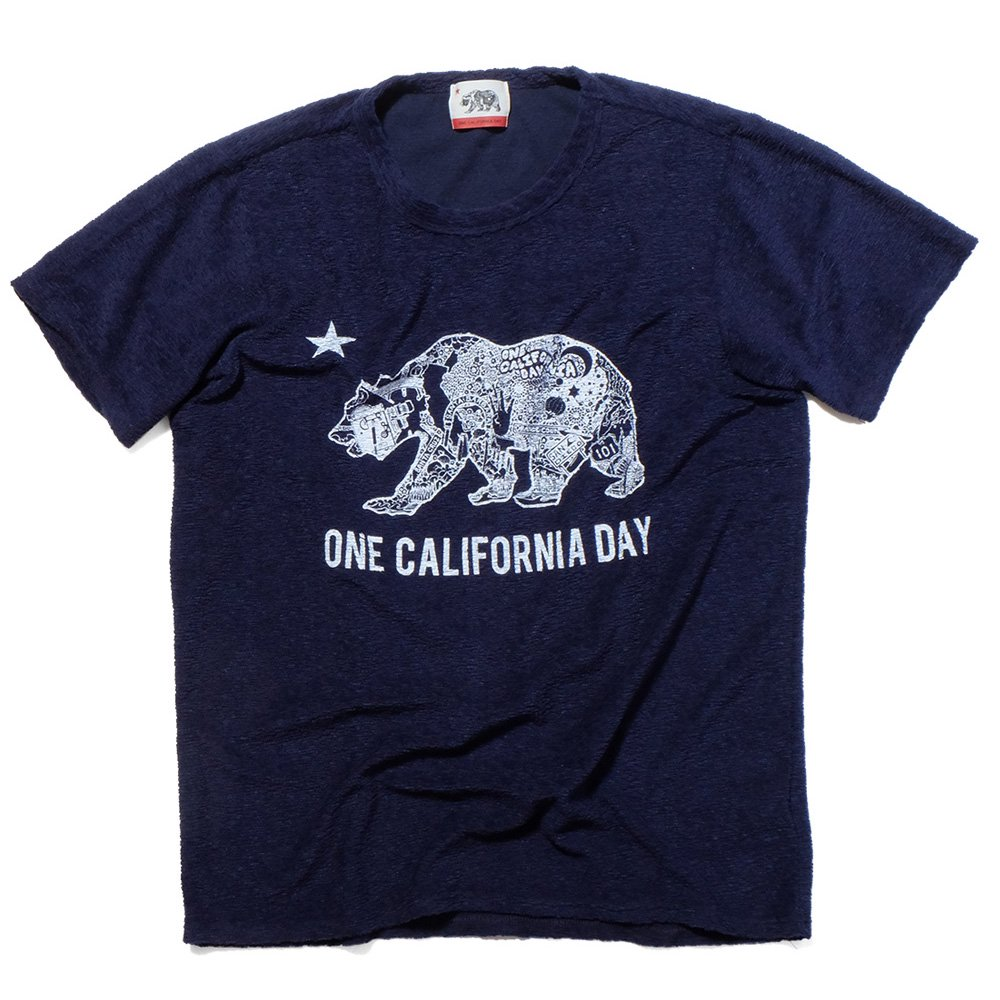 ベンデイビス ONE CALIFORNIA DAY PILE PRINT TEE (BEAR) 詳細画像1