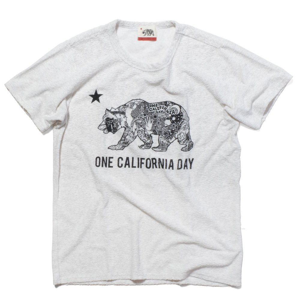 ベンデイビス ONE CALIFORNIA DAY PILE PRINT TEE (BEAR) 詳細画像2