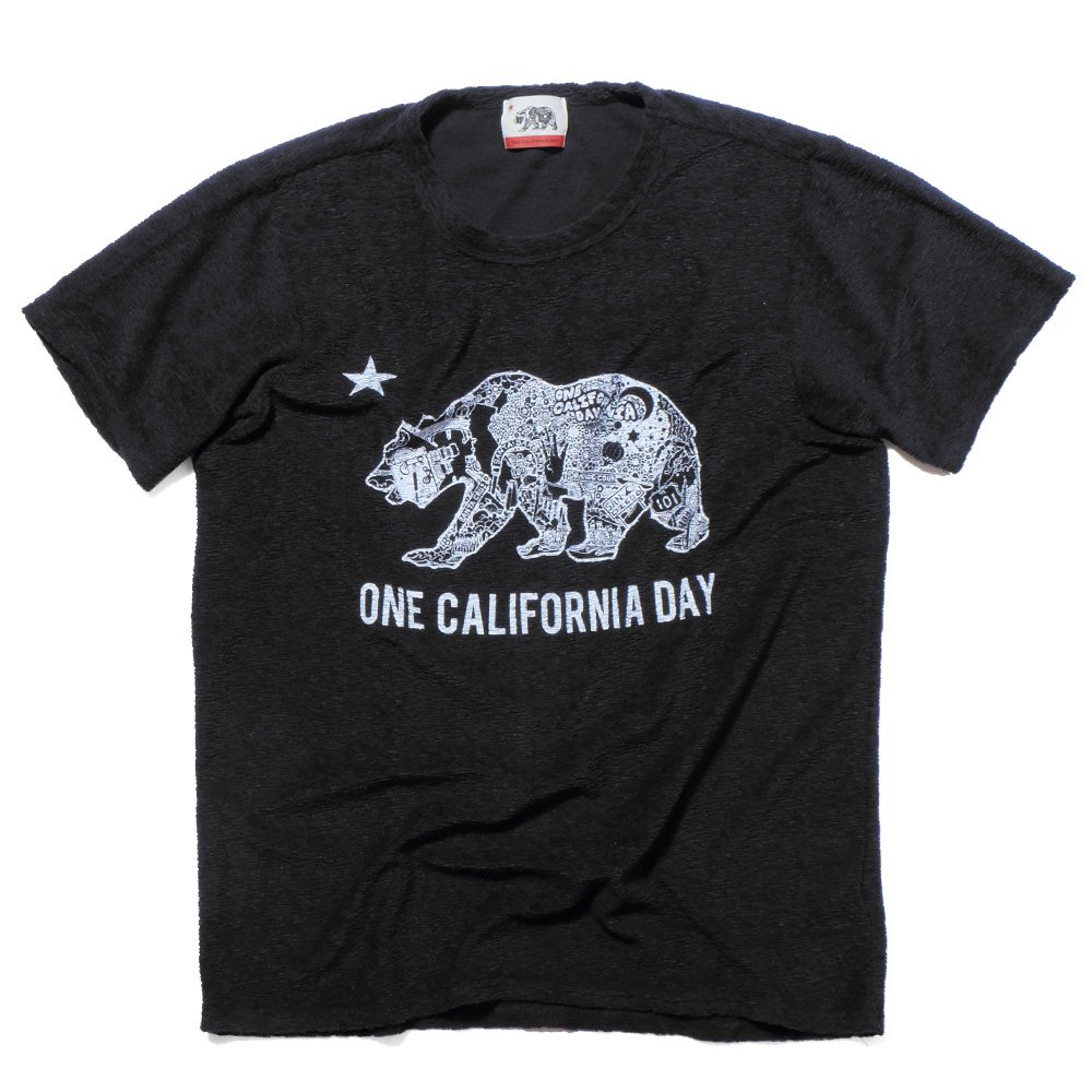 ベンデイビス ONE CALIFORNIA DAY PILE PRINT TEE (BEAR) 詳細画像3