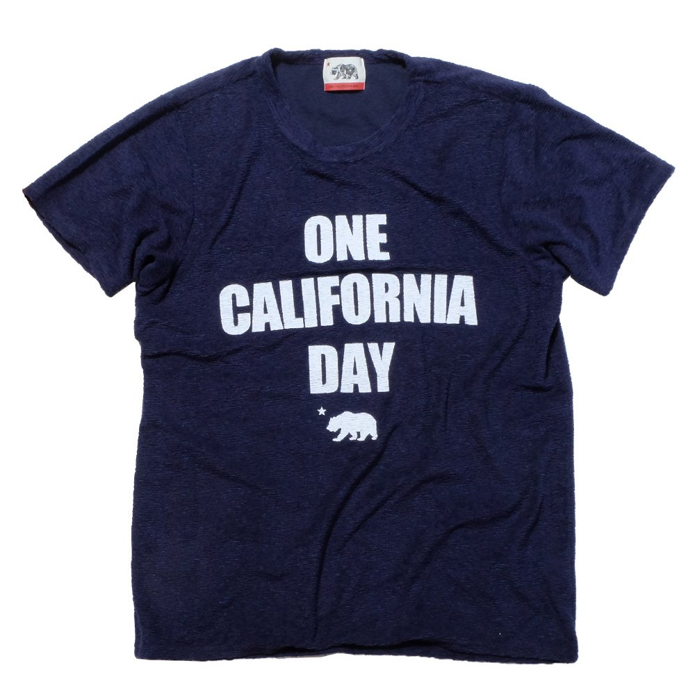 ベンデイビス ONE CALIFORNIA DAY PILE PRINT TEE (TITLE) 詳細画像1
