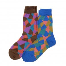 AYAME Terra-cotta socks (LADY'S)