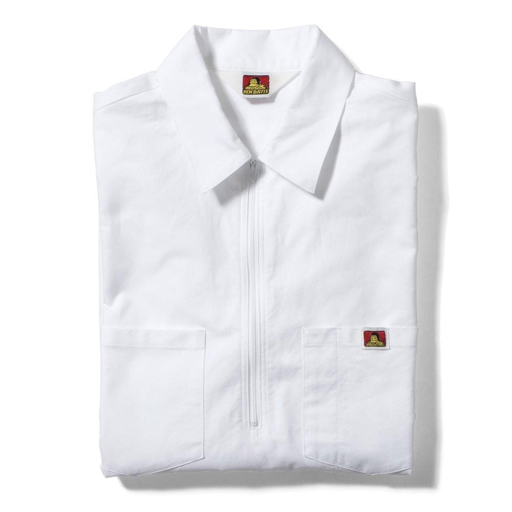 ベンデイビス 【HALF ZIP SHIRTS】オックスフォードハーフジップシャツ 詳細画像1