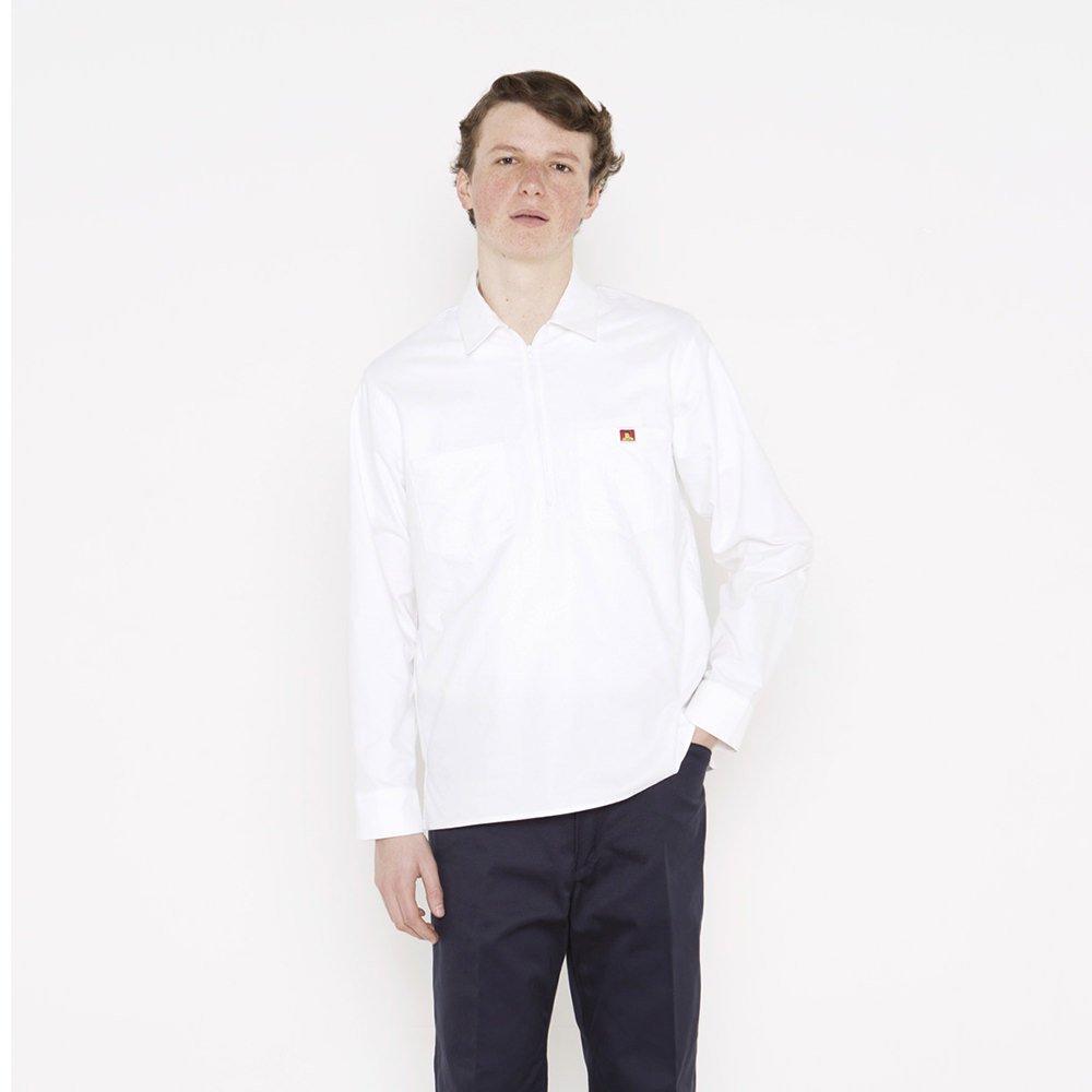 ベンデイビス 【HALF ZIP SHIRTS】オックスフォードハーフジップシャツ 詳細画像2