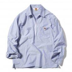 【HALF ZIP SHIRTS】オックスフォードハーフジップシャツ