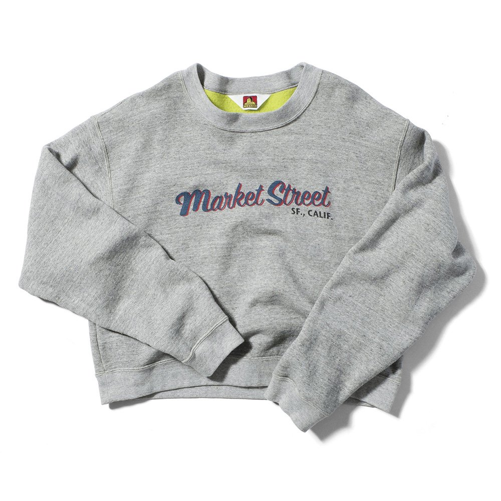 ベンデイビス SWEAT SHIRTS WITH PRINT (MARKET ST) 詳細画像