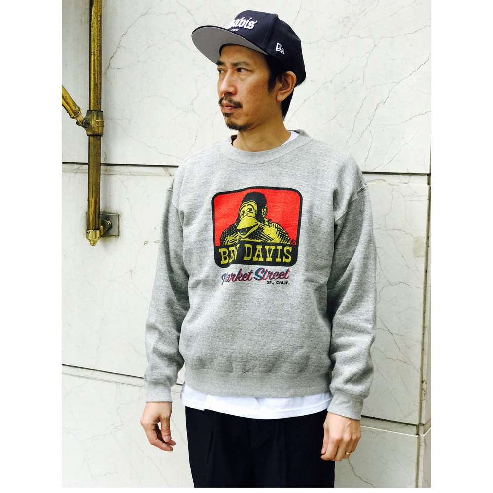 ベンデイビス SWEAT SHIRTS WITH PRINT (MARKET ST) 詳細画像2