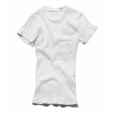 YOUNG & OLSEN The DRY GOODS STORE BROAD RIB POCKET CREW