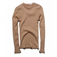 YOUNG & OLSEN The DRY GOODS STORE(ヤング&オルセン)‐ BROAD RIB CREWNECK L/S