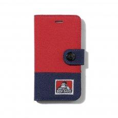 BEN DAVIS ORIGINALS - I-PHONE 7 CASE 手帳型 (2TONE)