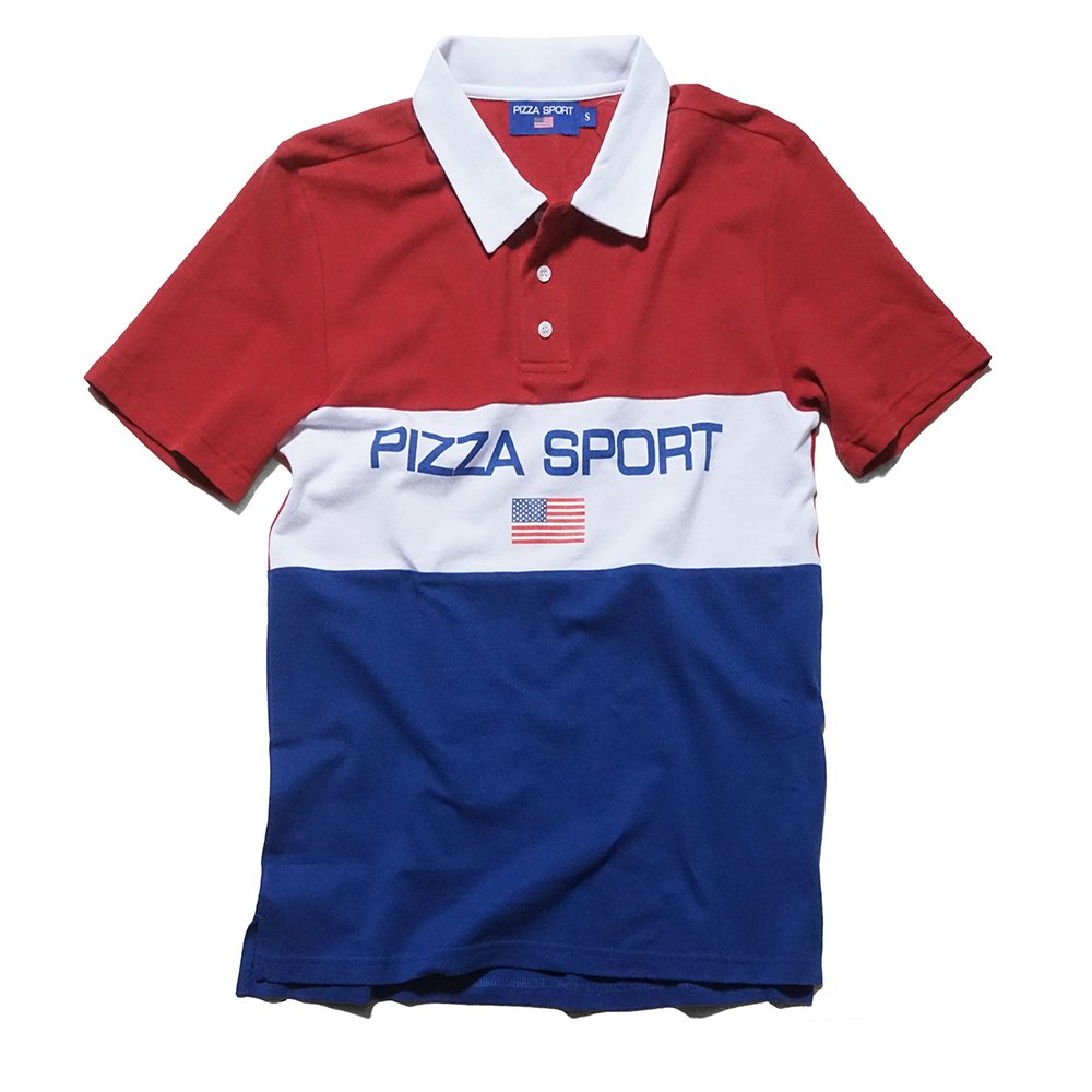 ベンデイビス PIZZA SKATEBOARDS PIZZA SPORT POLO 詳細画像