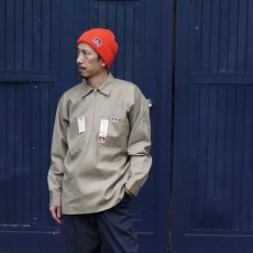 BEN DAVIS USA【SOLID HALF ZIP L/S SHIRTS】ハーフジップシャツ長袖