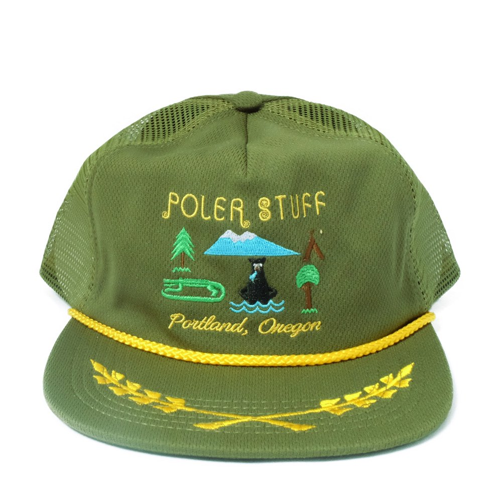 ベンデイビス POLER - TOURIST TRAP MESH TRUCKER  詳細画像2