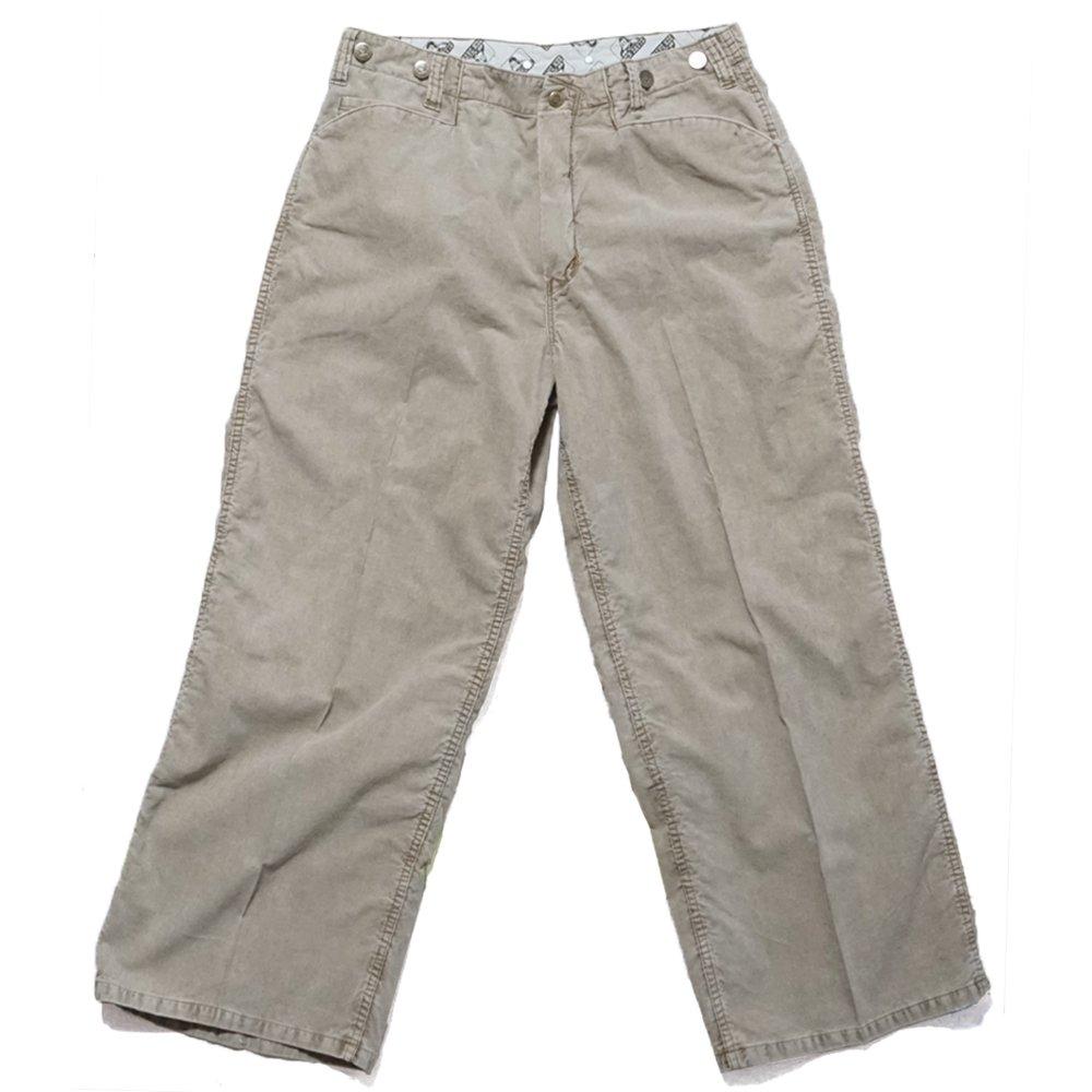 ベンデイビス 【GORILLA CUT PANTS】ゴリラカット パンツ (サマーコード)ワイドパンツ 詳細画像