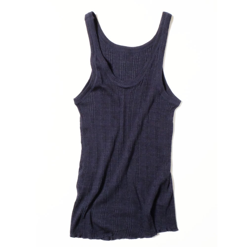 YOUNG & OLSEN The DRY GOODS STORE(ヤング&オルセン)‐ RANDAM RIB BACKWARDS TANK