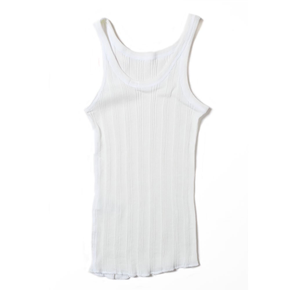 ベンデイビス YOUNG & OLSEN The DRY GOODS STORE(ヤング&オルセン)‐ RANDAM RIB BACKWARDS TANK  詳細画像1