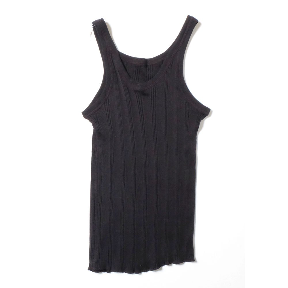 ベンデイビス YOUNG & OLSEN The DRY GOODS STORE(ヤング&オルセン)‐ RANDAM RIB BACKWARDS TANK  詳細画像2