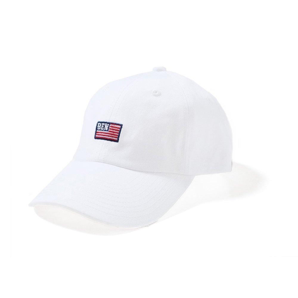 ベンデイビス 【FLAG LOW CAP】フラッグ刺繍ローキャップ 詳細画像1