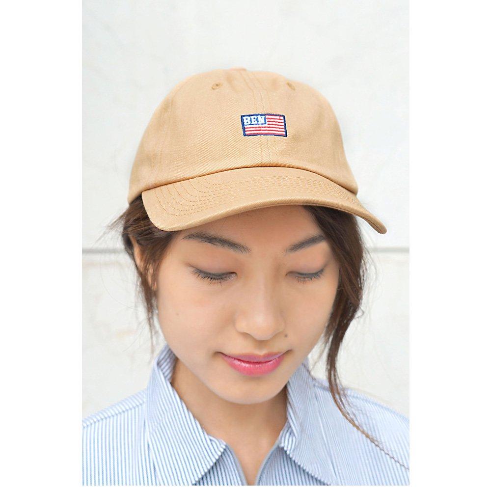 ベンデイビス 【FLAG LOW CAP】フラッグ刺繍ローキャップ 詳細画像6