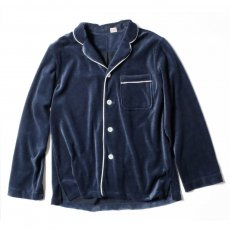YOUNG & OLSEN The DRY GOODS STORE(ヤング&オルセン)‐ VELOUR PYJAMA SHIRTS