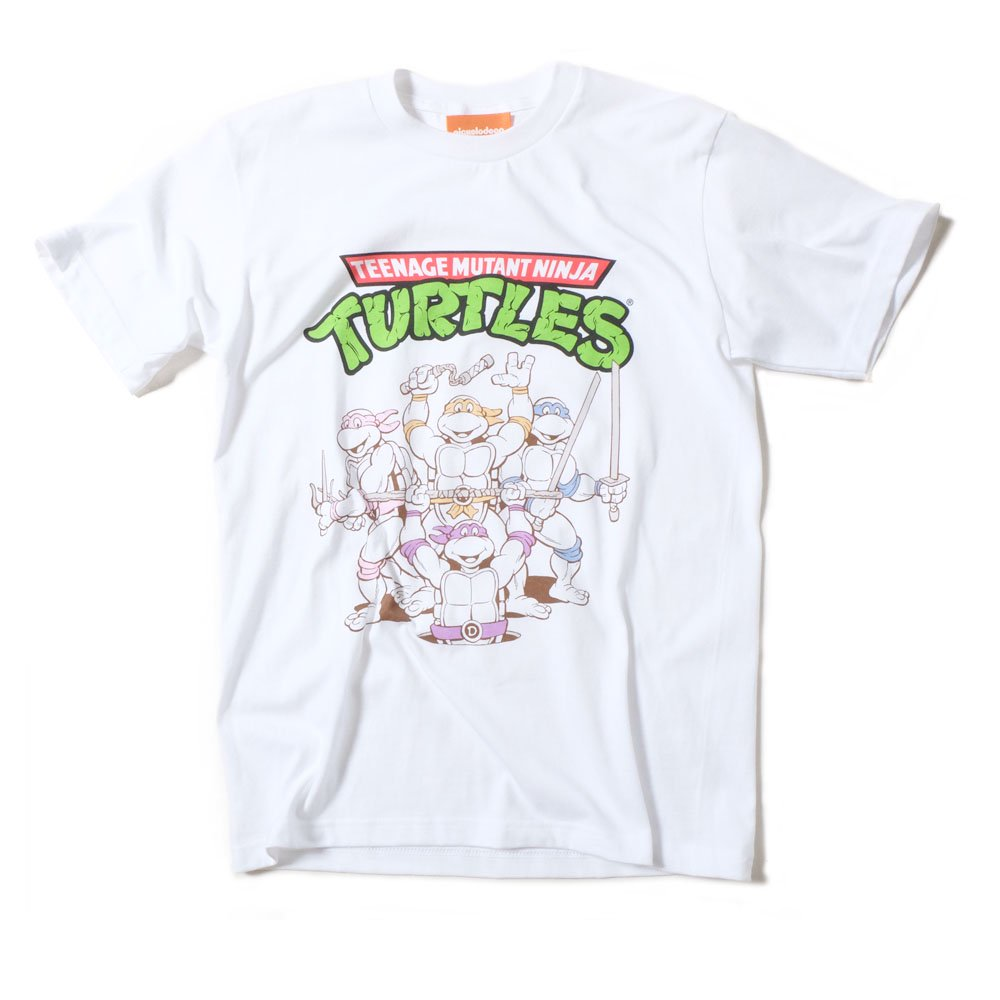 【Teenage Mutant Ninja TURTLES】PRINT TEE - タートルズ プリント Tシャツ_1