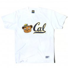 【UC BERKELEY】プリントTシャツ - OSKI THE BEAR & CAL