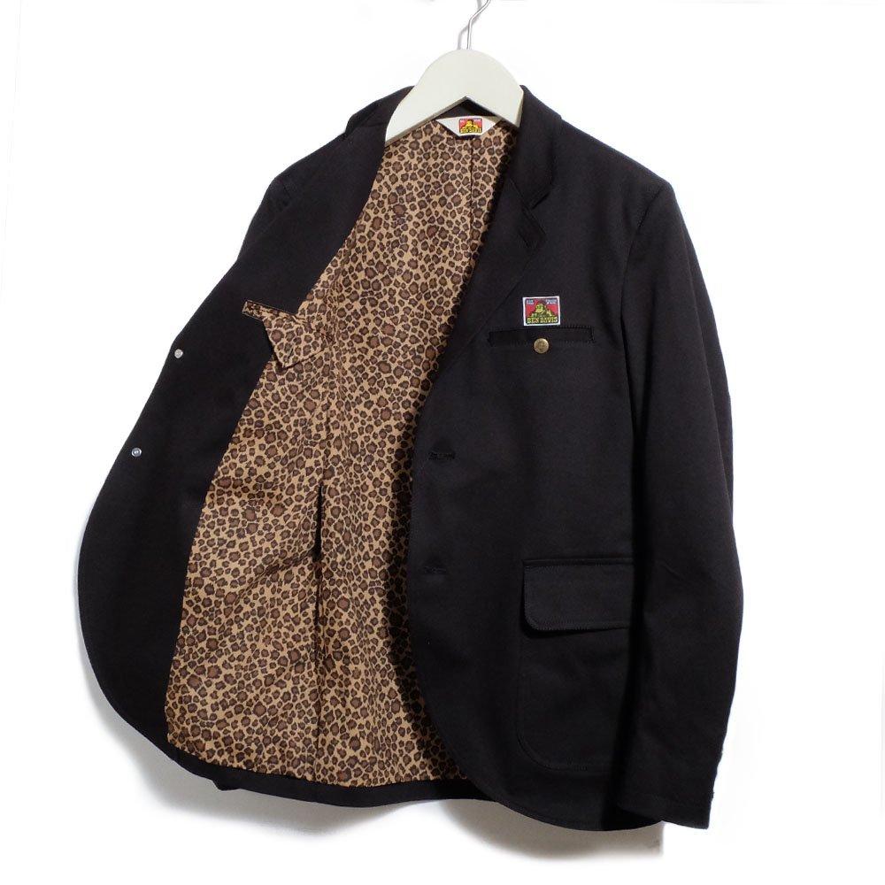 ベンデイビス 【HEY LADIES JKT ST - BLK/LEO】 - ヘイレディースジャケット(ブラック/レオパード) 詳細画像1