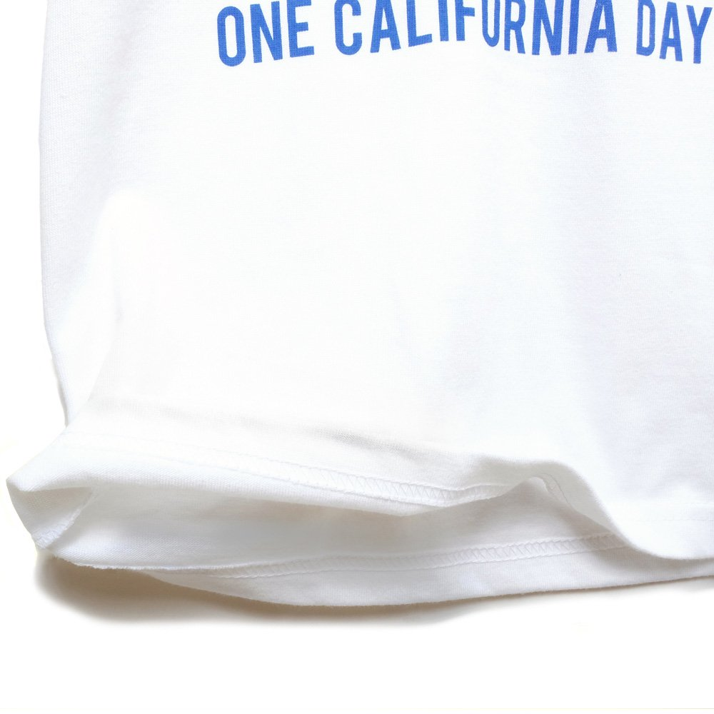【ONE CALIFORNIA DAY - CAL BEAR PRINT TEE for KIDS】- プリントTシャツ(子供用)