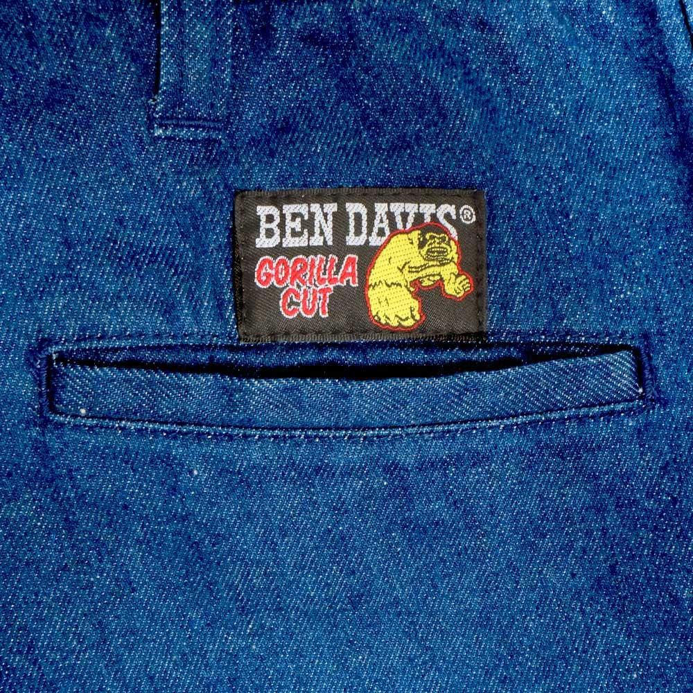 ベンデイビス 【NEW GORILLA PANTS】ニューゴリラパンツ/ワイドデニムパンツ 詳細画像3