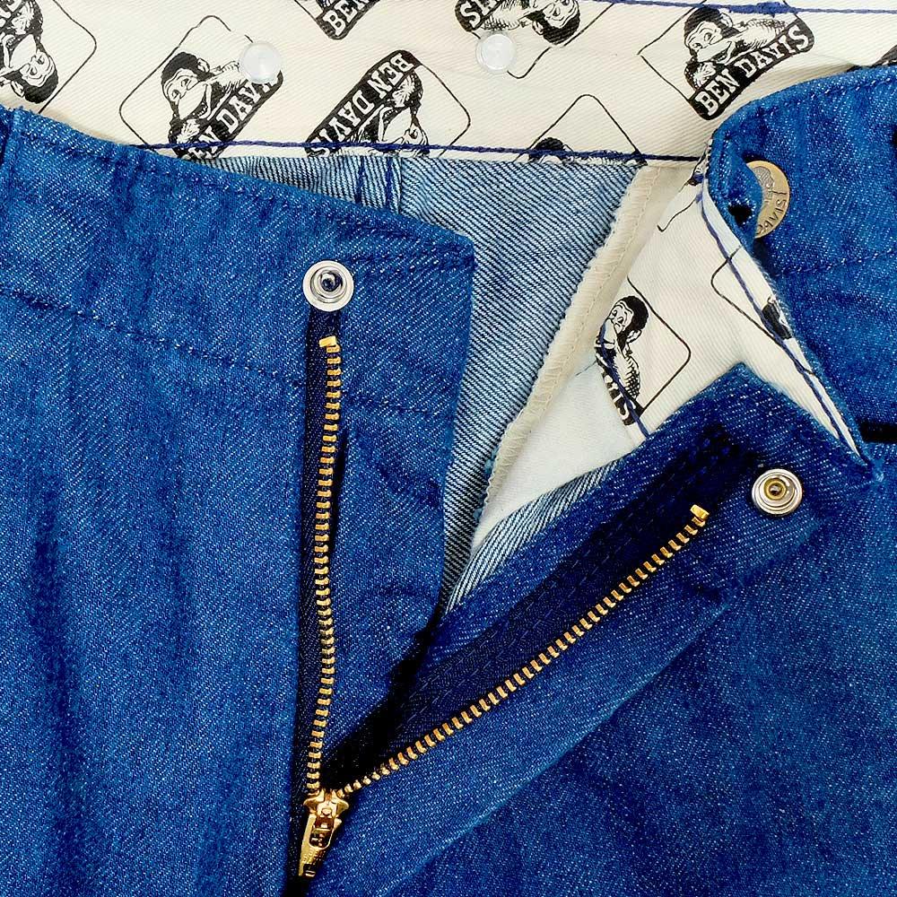 ベンデイビス 【NEW GORILLA PANTS】ニューゴリラパンツ/ワイドデニムパンツ 詳細画像5