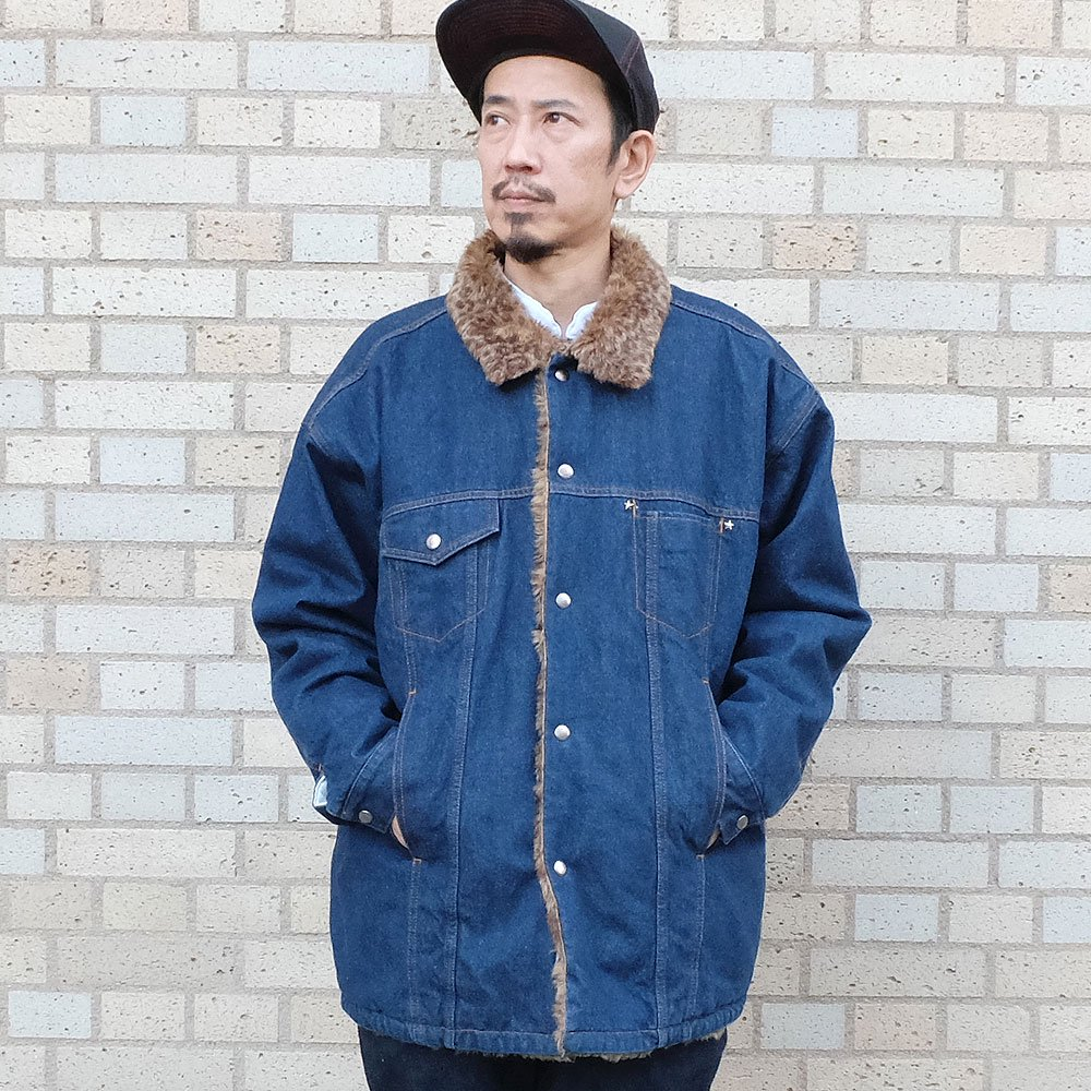 ベンデイビス YOUNG & OLSEN The DRY GOODS STORE(ヤング&オルセン)‐ REVERSIBLE DENIM JACKET 詳細画像6