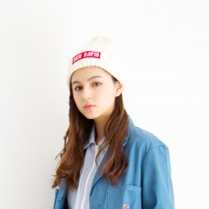 <img class='new_mark_img1' src='//img.shop-pro.jp/img/new/icons14.gif' style='border:none;display:inline;margin:0px;padding:0px;width:auto;' />【BOX LOGO KNIT CAP】コットンボックスロゴニットキャップ